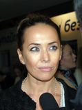 Pop singer Zhanna Friske at the premiere of Ali Stock Images