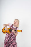 Pop star Stock Photography