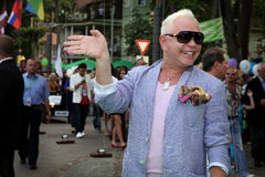 The pop star Boris Moiseyev Stock Photos