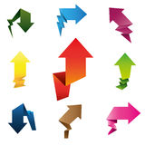 Pop up arrows Royalty Free Stock Image
