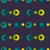 Pop up bubbles symmetry seamless pattern. Autentic design for textile, print or digital stock illustration