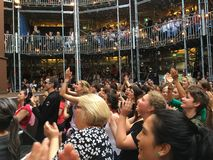 Pop-up Globe Amphitheatre Auckland Royalty Free Stock Photos