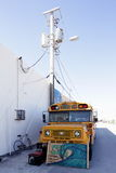 Pop-up school bus gallery Royalty Free Stock Photography