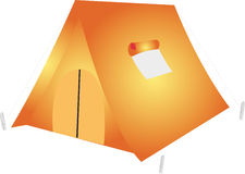 Pop-up Tent Royalty Free Stock Images
