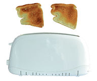 Pop Up Toaster. Isolated With PNG File Attached Stock Photo