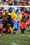 Pop Warner Football royalty-vrije stock foto's