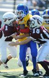 Pop Warner Football Arkivbilder
