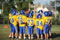 Pop Warner Football stock foto's