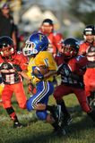 Pop Warner Football Royaltyfri Bild