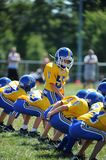 Pop Warner Football royalty-vrije stock foto