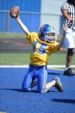 Pop Warner Football royaltyfria bilder