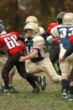 Pop Warner Football royalty-vrije stock afbeeldingen