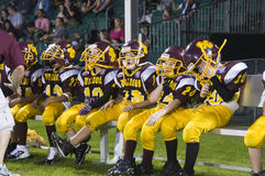 Pop Warner Football Stock Image