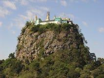 popa της Myanmar υποστηριγμάτων της Στοκ Εικόνες