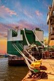 Popa de la nave Imagen de archivo libre de regalías