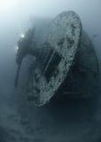 Popa de los SS Thistlegorm Foto de archivo