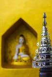 Popa Taung Kalat Monastery. Myanmar - Myanmar (Burma), Mandalay Division, Mount Popa, Popa Taung Kalat Monastery cultminating at 737 metres high is central to Stock Photos