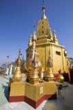 Popa Taungkalat kloster Royaltyfri Foto