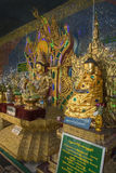 Popa Taungkalat Nats Shrine - Myanmar (Burma) Royalty Free Stock Photo