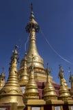 Mount Popa - Popa Taungkalat - Myanmar (Burma) Stock Photos