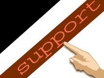 Poparcie Zdjęcie Stock