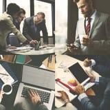 Poparcie pracy zespołowej Biznesowego związku Korporacyjny pojęcie obraz stock