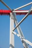 Poparcie wyginająca się stalowa stropnica Chongqing Chaotianmen jangcy most Zdjęcie Stock