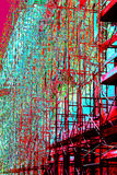 popart υλικά σκαλωσιάς Στοκ εικόνες με δικαίωμα ελεύθερης χρήσης