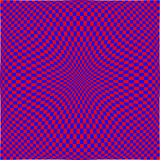 Popart_03. Raster graphic depicting op art/pop art checkerboard pattern background Stock Photography