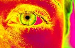 Popart - Auge I Lizenzfreies Stockfoto