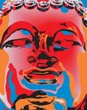 Popart Buddha Imágenes de archivo libres de regalías