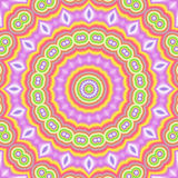 Popart kaleidoscopic royalty free illustration