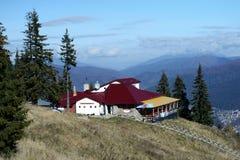 Popas Alpin - traditional restaurant royalty free stock photo