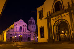 Popayan Church Royalty Free Stock Photos