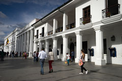Popayan downtown Royalty Free Stock Photography