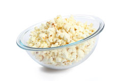 popcorn γυαλιού κύπελλων Στοκ φωτογραφία με δικαίωμα ελεύθερης χρήσης
