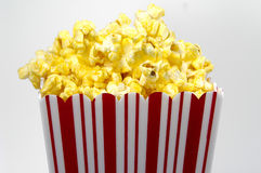 popcorn κάδων στοκ φωτογραφία