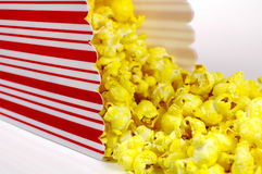 popcorn κάδων Στοκ Εικόνες