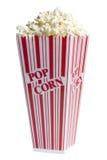 popcorn κιβωτίων λευκό Στοκ φωτογραφία με δικαίωμα ελεύθερης χρήσης