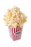popcorn κιβωτίων στοκ φωτογραφίες