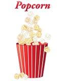Popcorn μεταχειρίζεται Στοκ Φωτογραφίες