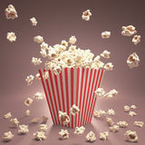 Popcorn πέταγμα Στοκ φωτογραφία με δικαίωμα ελεύθερης χρήσης