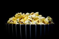 Popcorn πιάτο Στοκ Φωτογραφίες