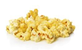 Popcorn που απομονώνεται στο άσπρο υπόβαθρο Στοκ Εικόνα