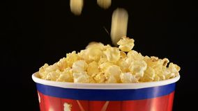 Popcorn που εμπίπτει σε τσάντα, στο Μαύρο, 2 πακέτο, επιβραδύνει φιλμ μικρού μήκους