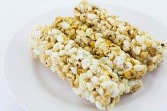 Popcorn ραβδί Στοκ εικόνα με δικαίωμα ελεύθερης χρήσης