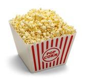 Popcorn σκάφη στοκ εικόνες