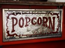popcorn στεναγμός Στοκ εικόνες με δικαίωμα ελεύθερης χρήσης