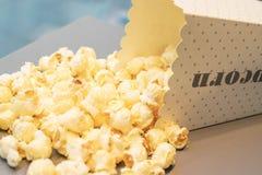 Popcorn στην τσάντα Στοκ Φωτογραφία