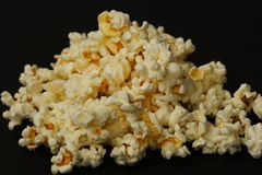 Popcorn. Backgroup Stock Image